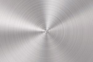 poliertes Aluminium